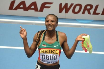 Hellen Obiri WI 2014