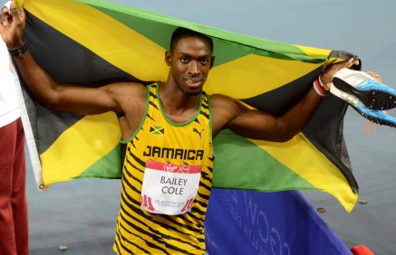 Commonwealth 100m Champion Kemar Bailey-Cole
