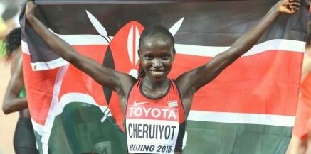 Olympic and 5 x World Champion Vivian Cheruiyot